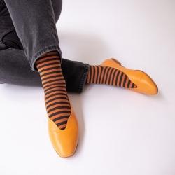 Socks Caramel Stripe