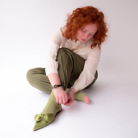 chaussettes - bonne maison -  Mousse - Uni - femme - homme - mixte