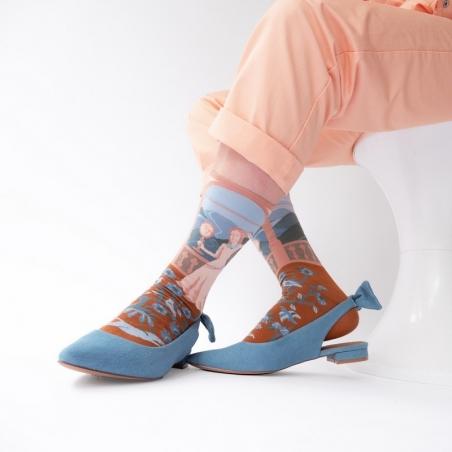 chaussettes - bonne maison -  Princesse - Ciel - femme - homme - mixte