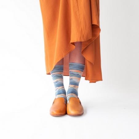 chaussettes - bonne maison -  Vague - Orage - femme - homme - mixte