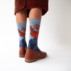 chaussettes - bonne maison -  Phoenix - Orage - femme - homme - mixte