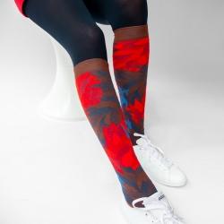 socks - bonne maison -  Blaze - Chestnut - women - men - mixed