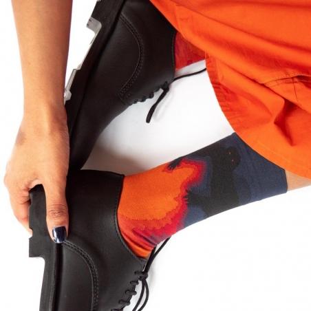 chaussettes - bonne maison -  Démon - Ardoise - femme - homme - mixte