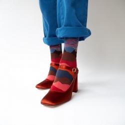 chaussettes - bonne maison -  Volcan - Ardoise - femme - homme - mixte