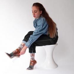 chaussettes - bonne maison -  Château - Ciel - femme - homme - mixte