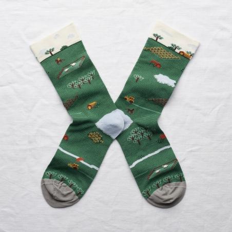 socks - bonne maison -  Tractor - Ming - women - men - mixed