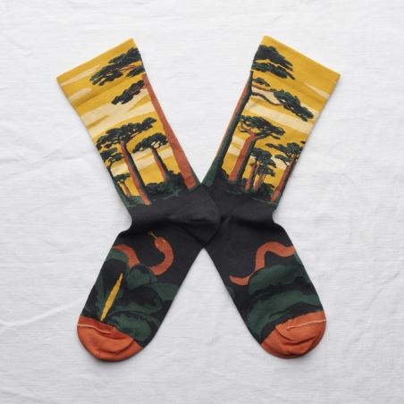 socks - bonne maison -  Baobab - Buttercup - women - men - mixed