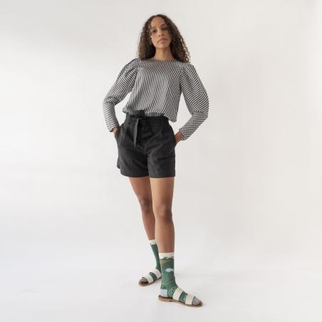 chaussettes - bonne maison -  Tracteur - Vert Ming - femme - homme - mixte