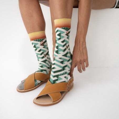 socks - bonne maison -  Maze - Ming - women - men - mixed