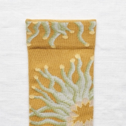 socks - bonne maison -  Anemone - Ochre - women - men - mixed