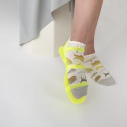 chaussettes - bonne maison -  Poisson - Naturel - femme - homme - mixte