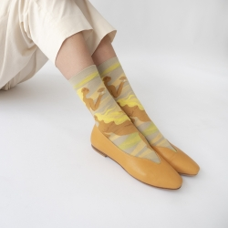 socks - bonne maison -  Mermaid - Celadon - women - men - mixed
