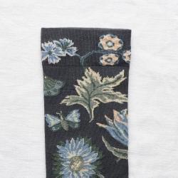 chaussettes - bonne maison -  Indienne - Bleu Nuit - femme - homme - mixte