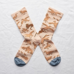 socks - bonne maison -  Ducks - Rosebud - women - men - mixed