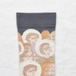 chaussettes - bonne maison -  Ange - Acier - femme - homme - mixte