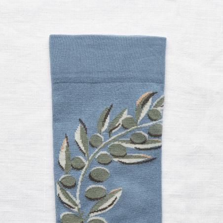 socks - bonne maison -  Olive Tree - Paradise - women - men - mixed