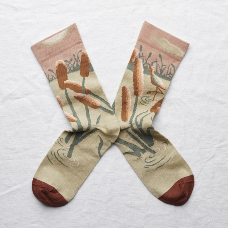 socks - bonne maison -  Ibis - Nude - women - men - mixed