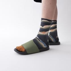 socks - bonne maison -  Cloud - Steel - women - men - mixed