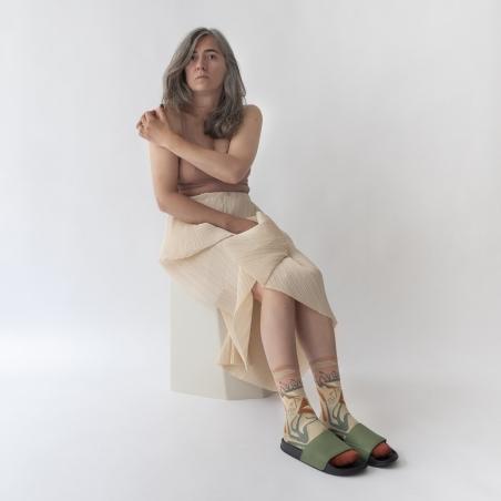 chaussettes - bonne maison -  Ibis - Nude - femme - homme - mixte