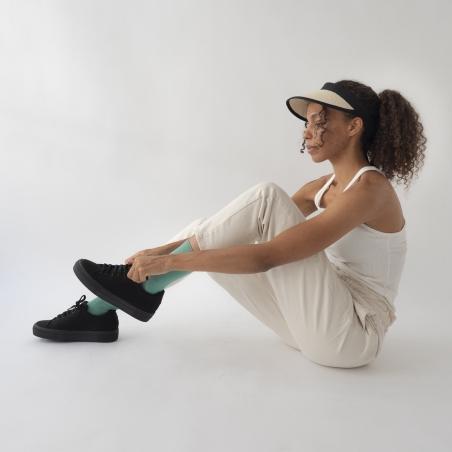 chaussettes - bonne maison -  Uni - Vert Ming - femme - homme - mixte