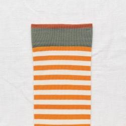 socks - bonne maison -  Stripe - Zest - women - men - mixed