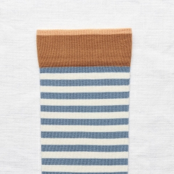 socks - bonne maison -  Stripe - Paradise - women - men - mixed