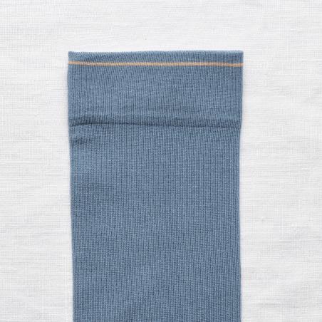 chaussettes - bonne maison -  Uni - Bleu Paradis - femme - homme - mixte