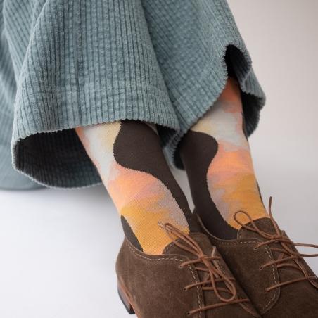 socks - bonne maison -  Angel - Umber - women - men - mixed