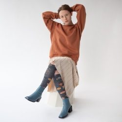 chaussettes - bonne maison -  Poirier - Acier - femme - homme - mixte