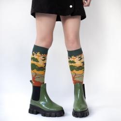 chaussettes - bonne maison -  Forêt - Multico - femme - homme - mixte