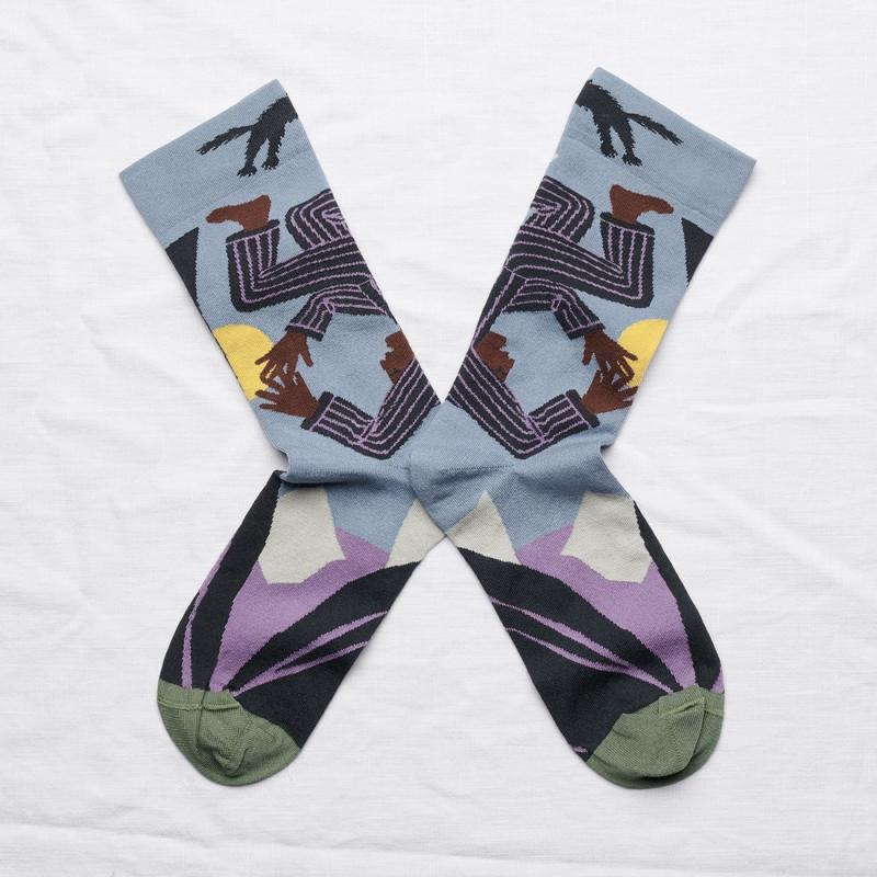 chaussettes - bonne maison -  Cauchemar - Orage - femme - homme - mixte