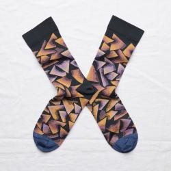 socks - bonne maison -  Triangle - Night - women - men - mixed
