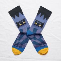 chaussettes - bonne maison -  Œil - Nuit - femme - homme - mixte