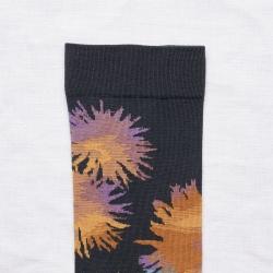 chaussettes - bonne maison -  Fleur - Nuit - femme - homme - mixte