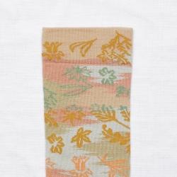 socks - bonne maison -  Domino Paper - Sand - women - men - mixed