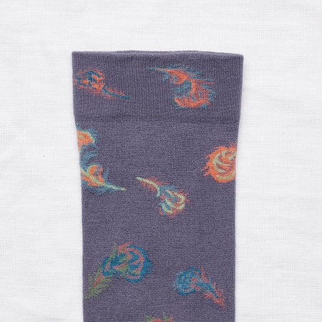 socks - bonne maison -  Feather - Nocturnal - women - men - mixed