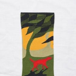chaussettes - bonne maison -  Chien - Cactus - femme - homme - mixte
