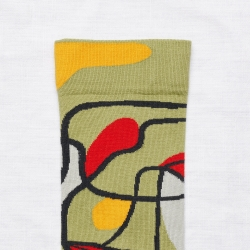 socks - bonne maison -  Root - Moss - women - men - mixed