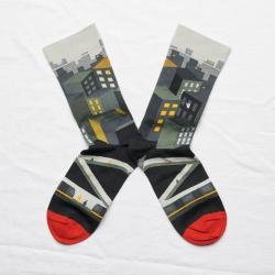 chaussettes - bonne maison -  Ville - Multico - femme - homme - mixte