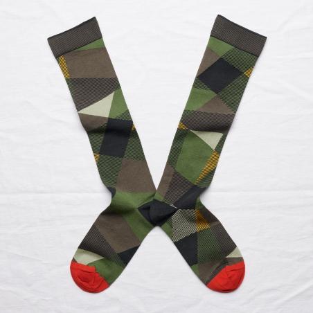 socks - bonne maison -  Abstract - Multico - women - men - mixed