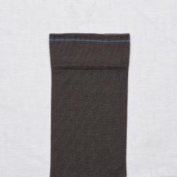 chaussettes - bonne maison -  Uni - Terre d'ombre - femme - homme - mixte