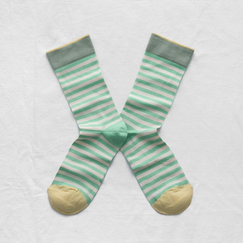 Mint Green Stripe